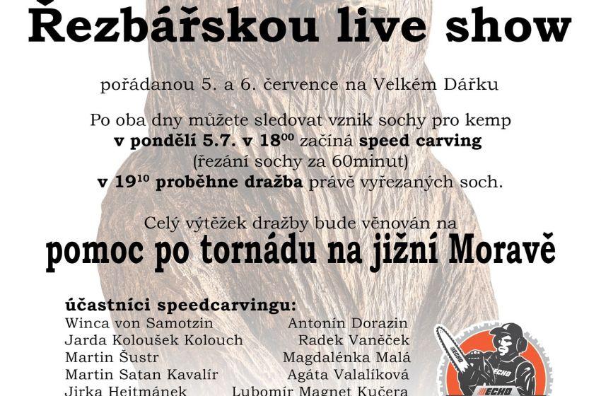 Řezbářská live show