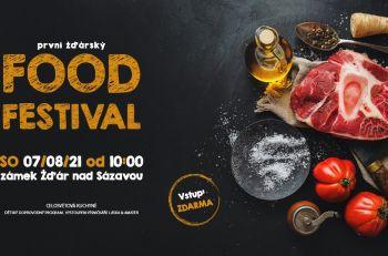 Aktuality - 1. žďárský FOOD FESTIVAL