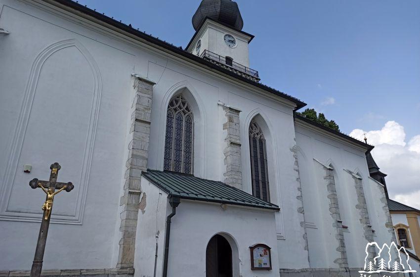 Věž kostela sv. Prokopa
